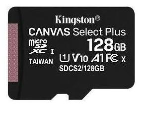SD Micro 128GB XC Kingston Adapter nélkül CL10 SDCS2/128GBSP