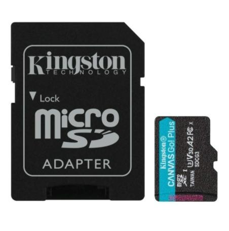SD Micro  64GB XC Kingston 1Adapter UHS-I U3 SDCG3/64GB