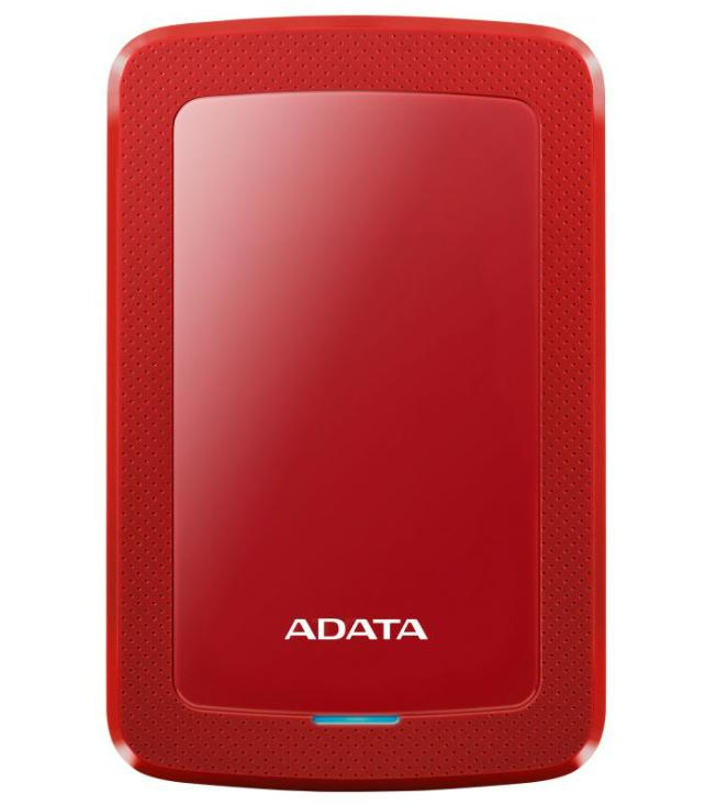 "2,5"" USB HDD 4TB A-DATA USB 3.1 piros AHV300-4TU31-CRD"